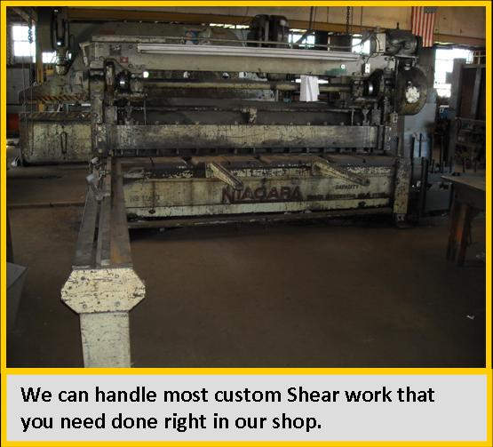 Custom 10' shear available