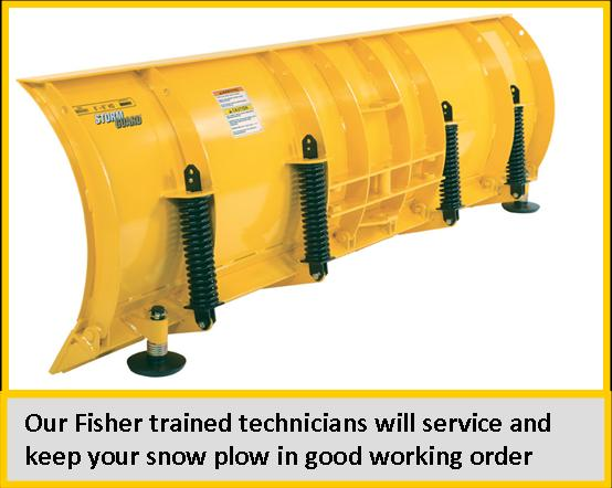 Any brand plow service - OEM trained technicians onsite