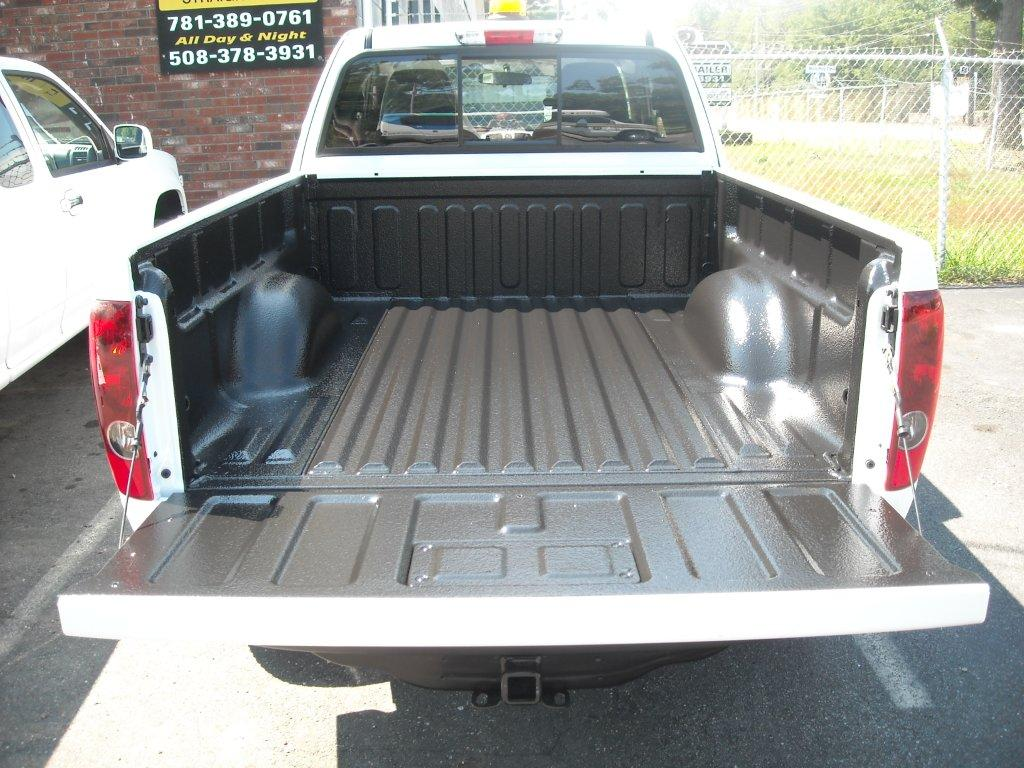 Spray-in bedliner done any color